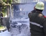 Fahrzeugbrand Muli Lesachtal