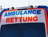 Schild Ambulance Rettung