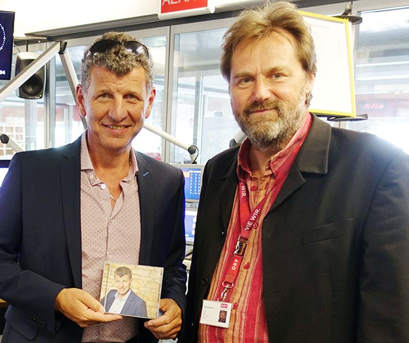 Semino Rossi und Walter Höller