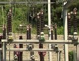 Strom Anlage Umspannwerk