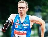 Günther Matzinger Para Leichtathlet Läufer