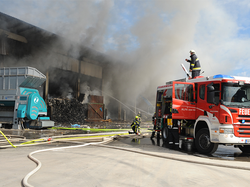 Brand in Peggau