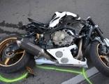 Unfall auf Exelbergstraße