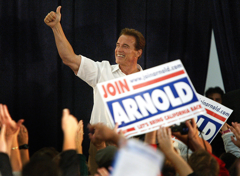 Schwarzenegger Wahlkampf Kalifornien