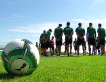 SV Mattersburg beim Training