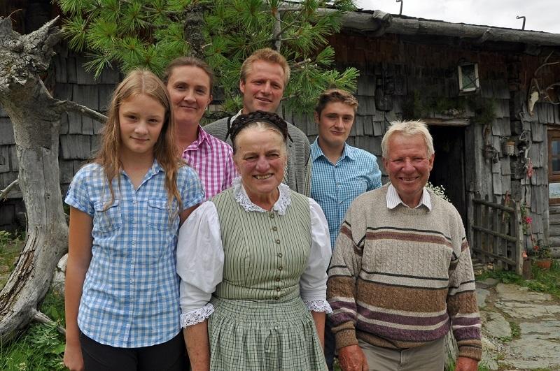Weißalm, Weissalm, Großarl, Murmeltier, Mankei, Alm, Familie, Bauern, Sauerkäse