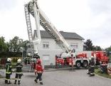 Feuerwehreinsatz Hornissennest