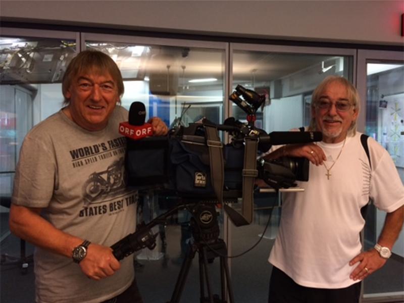 Die Amigos zu Gast im ORF-Landesstudio Salzburg