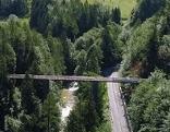 Aluminium-Brücke