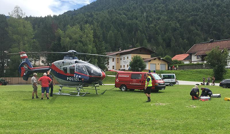 Zwei Tote bei Alpinunfällen in Scharnitz und im Außerfern