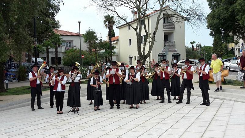 limena glazba Pinkovac u Malinskoj