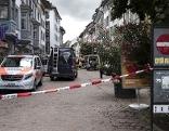 Altstadt Schaffhausen abgesperrt