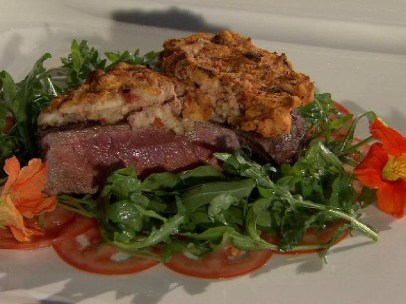 Kulinarium, Restaurant Murnockerl, Steak mit Paradeis-Joghurt-Kruste