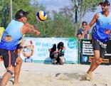 Die Beachvolleyballer Clemens Doppler und Alexander Horst