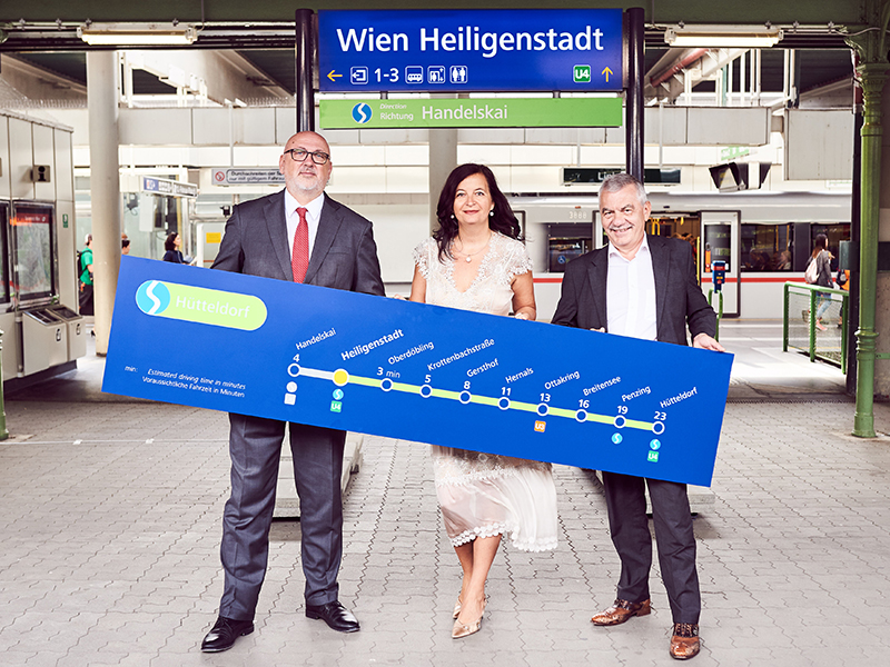 Neues Stationendesign