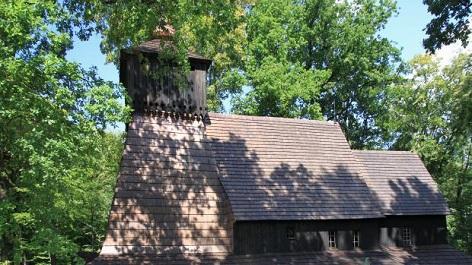 Třinec-Guty, dřevěný kostel z 16. století