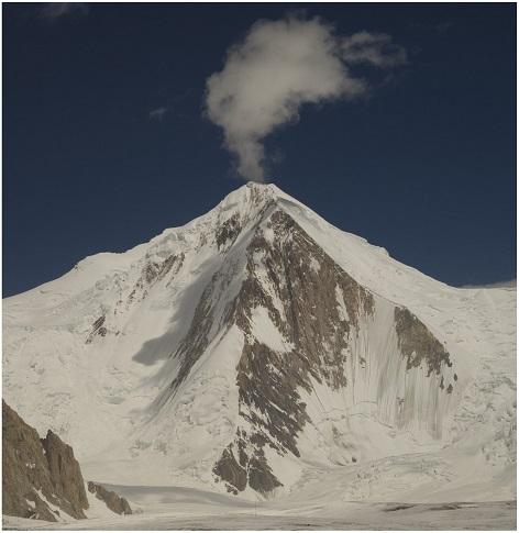 pohled na horu Gašerbrum I