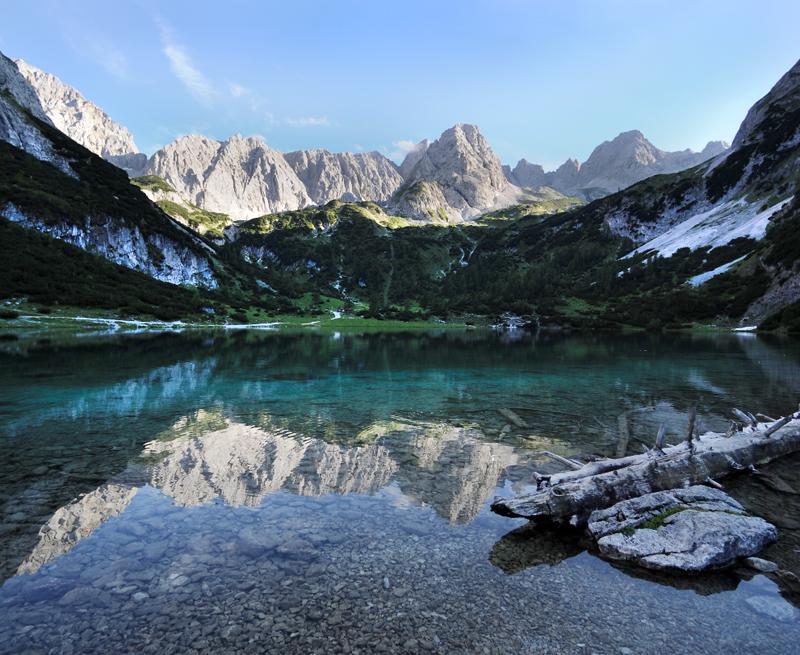Gaistal Bild 5: See umgeben von Bergen