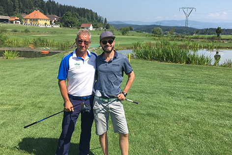 Golfen Christoph Körbler Koch