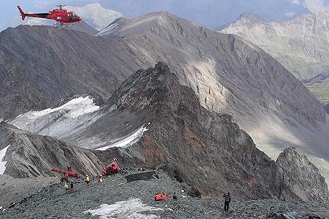 Ermittlungen nach Hubschrauberabsturz laufen Landeplatz Glockner