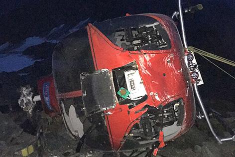 Hubschrauber Unfall Matrei Martin 4 Unfall Großglockner