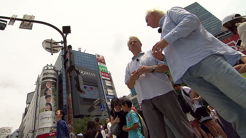 Kutrowatz-Brüder Eduard und Johannes in Japan