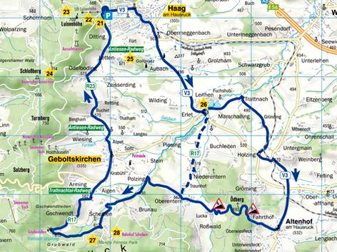 Radtour Sportliche Erlebnistour