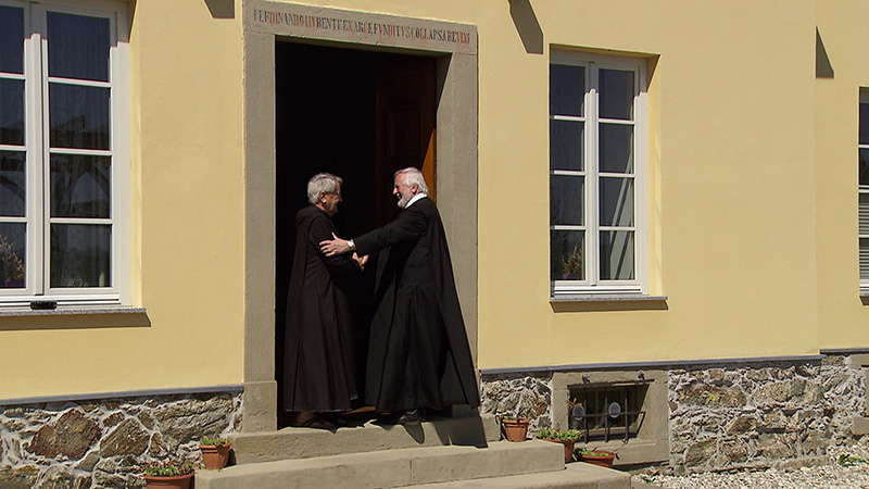 Weingut St. Paul Reben Kloster Mönche