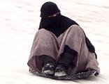 Schneerutschen auf dem Kitzsteinhorn von den Arabern