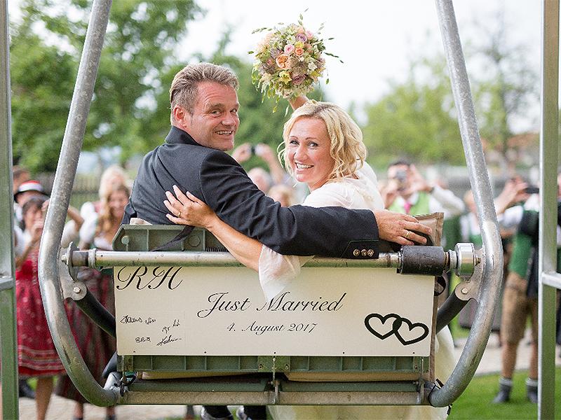 Renate Götschl hat geheiratet
