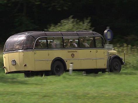 Reisen im Nostagiebus