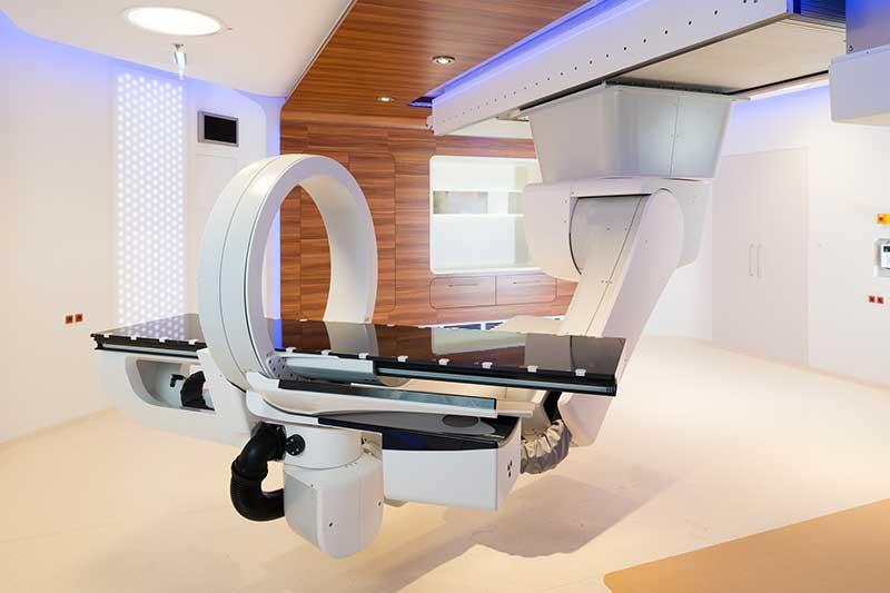 Neuer Behandlungsraum Medaustron