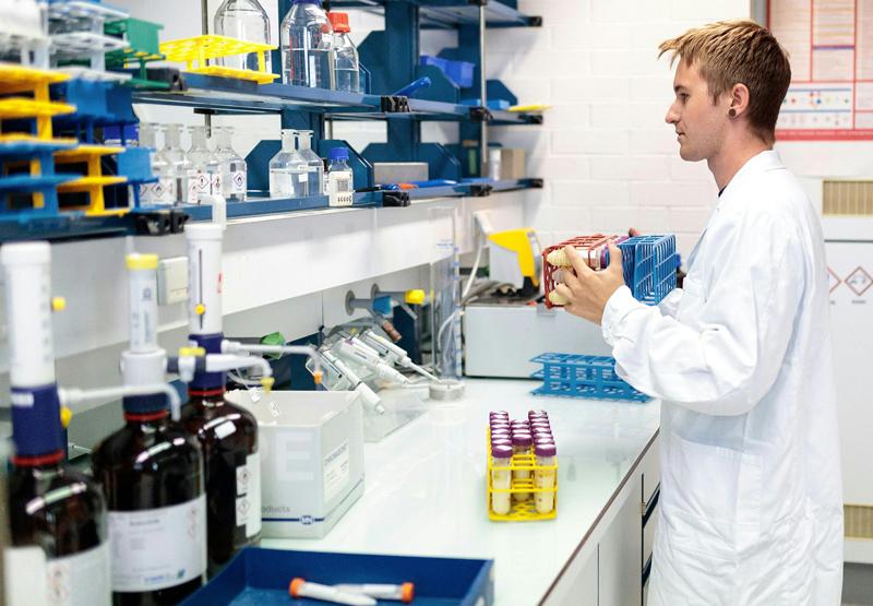 Fibronil-Untersuchung im AGES-Labor in Innsbruck