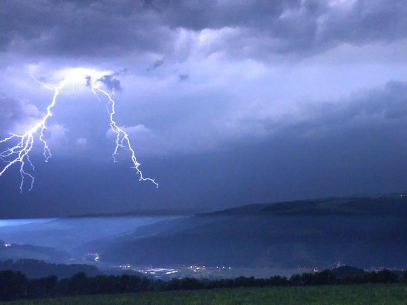 Blitz Niederösterreich Gewitter
