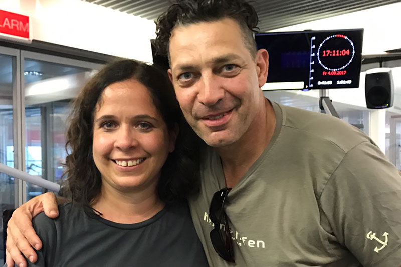 Gregor Bloeb mit Gabi Kerschbaumer