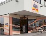 Filiale der Drogeriemarktkette dm in Österreich
