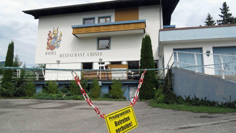 Hotel am Urisee, Bordellprojekt