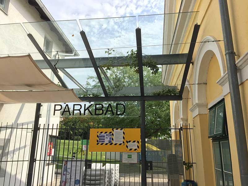 Parkbad in Eisenstadt gesperrt