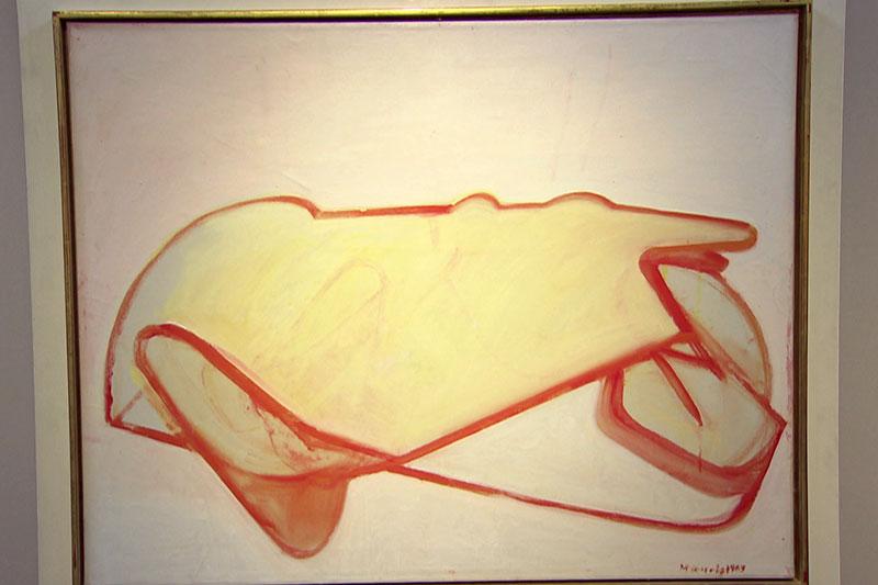 """""""Selbstporträt als Auto"""" von Maria Lassnig"""