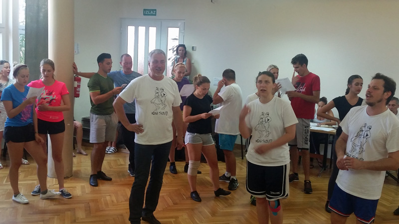 ljetna škola folklora Zadar Štefan Novak Filip Tyran Lydia Novak