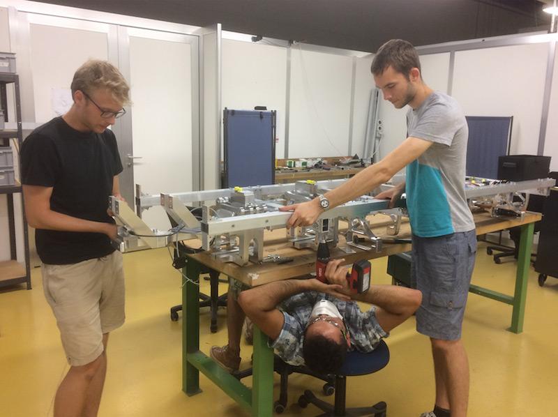 Studenten bauen Hyperloop zusammen