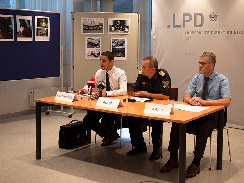 Pressekonferenz Polizei