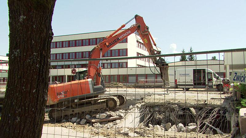 Schulsanierung Investitionen Baustelle