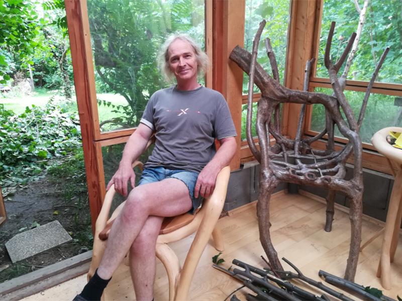 Bernhard Schmid, der Sesselzüchter aus Laßnitzhöhe
