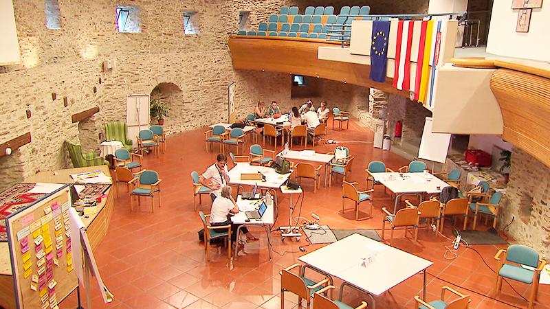 Krisenübung Krisencamp Burg Schlaining