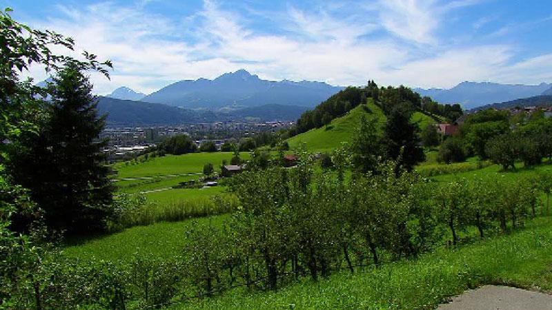 Grünflächen bei Arzl, mögliche Widmung in Bauland