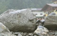 Mure Felssturz Hochwasser Flut Großarl