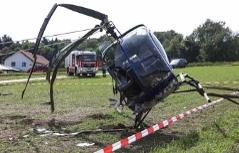 Hubschrauber Notlandung Engelhartszell