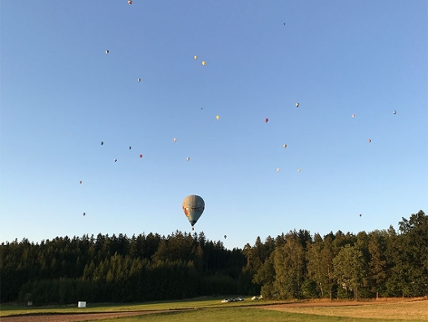 Ballonfahren Staatsmeisterschaft Groß-Siegharts