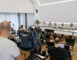 Pressekonferenz, St. Johann am Walde